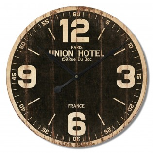 Reloj de pared de MDF 34 cm