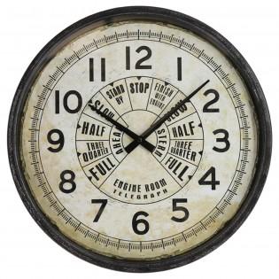 Reloj de pared de hierro...