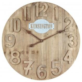 Reloj de pared de madera 60 cm
