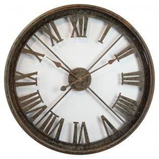 Reloj de pared de hierro 68 cm