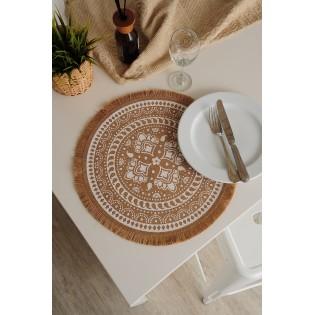 Centro de mesa Mandala White
